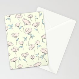 Spring Flowers / Pattern Stationery Cards