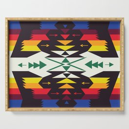 American Native Pattern No. 129 Serving Tray