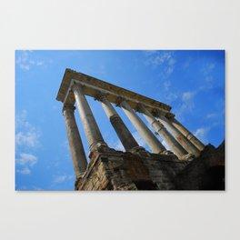 Column of Focas, Roman Forum, Italy Canvas Print