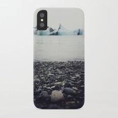 icebergs  iPhone X Slim Case