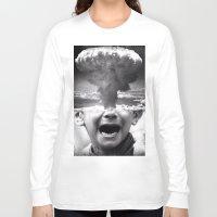 war Long Sleeve T-shirts featuring War by Cash Mattock