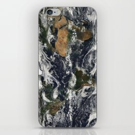 Map of Earth iPhone Skin