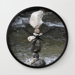 Stand up Friend Wall Clock
