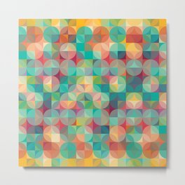 Geometry Abstract XVI Metal Print