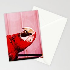 Intense scarlet red. Stationery Cards