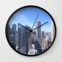 Rooftop Jams Wall Clock
