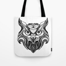 Owl - Drawing Tote Bag