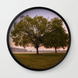 Piedmont Sunrise Wall Clock