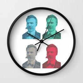 Friedrich Nietzsche Wall Clock