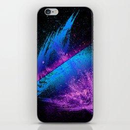Vivid Spray Paint Galaxy Style iPhone Skin