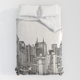 New York View 2 Comforters