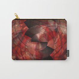 Metalabstract Swirl Carry-All Pouch
