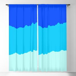 Crashing Sea Waves - Foam, Surf & Sky Blackout Curtain