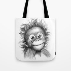 Monkey - Baby Orang outan 2016 G-121 Tote Bag