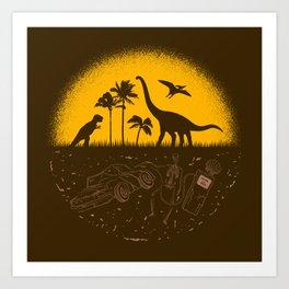Fossil Fuel Art Print