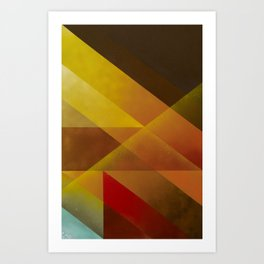 Jazz Festival 2012 (Number 2 in a series of 4) Art Print