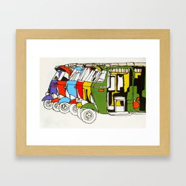 Tuk Tuks Framed Art Print