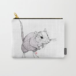Gerbil On Carry-All Pouch