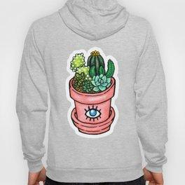 Cactus Pot Plant Hoody
