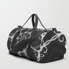 Dark Mandala #3 Duffle Bag