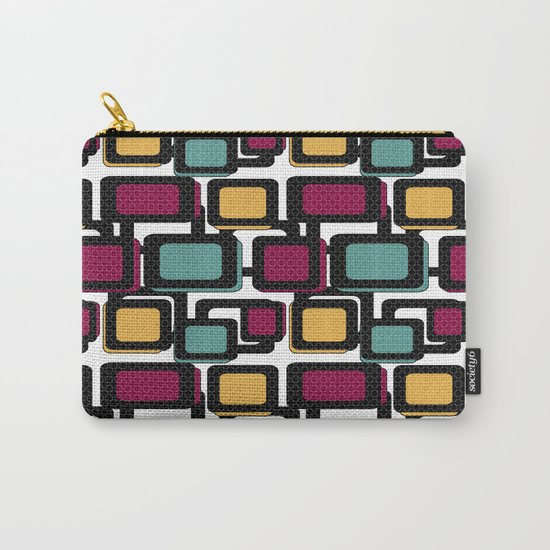 Seamless pattern with geometric elements Carry-All Pouch
