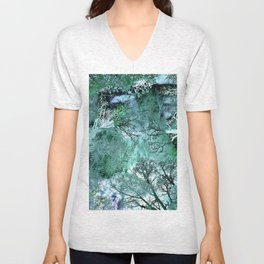My Life in the Green Bush of Ghosts Unisex V-Neck