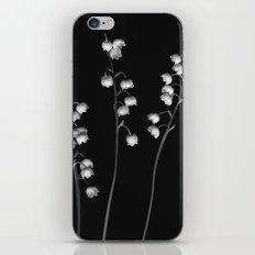 Lily of the Valley Noir iPhone Skin