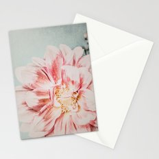 Pink Blush Flower Stationery Cards
