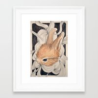baby Framed Art Prints featuring baby  by margaw