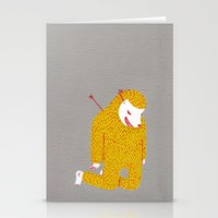 fault Stationery Cards featuring Everything is my fault by i am gao