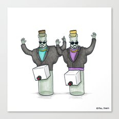 It's Wine in a Box Canvas Print