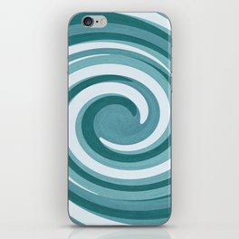 Twirling iPhone Skin