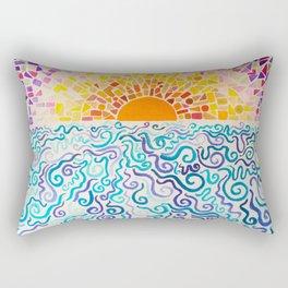Cake by the Ocean Rectangular Pillow