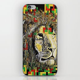 Lion In Zion iPhone Skin