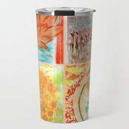 FOUR BUDDHAS  — BUDDHA NATURE Travel Mug
