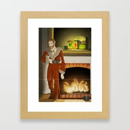 No.3 Christmas Series 1 - The Mid Years Framed Art Print