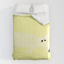 YELLOW SNIFFER DOG Comforters