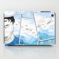 engineer iPad Cases featuring The Dreaming Engineer Ia by Vivian TAN Ai Hua
