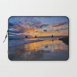Huntington Beach Sunsets  9/14/15 Laptop Sleeve