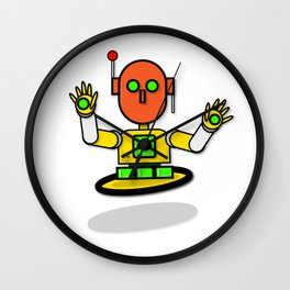 Marigold The Traffic Safety Robot Wall Clock