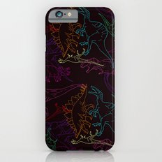 Psychedelic Dino iPhone 6 Slim Case
