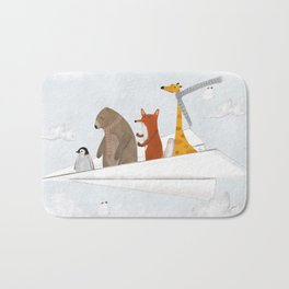 plane sailing Bath Mat