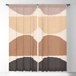 Abstract Art / Shapes 30 Blackout Curtain