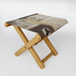 There and Back Folding Stool