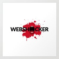 Webshocker Art Print