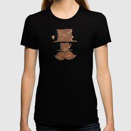 Rusty coffee shop sign T-shirt