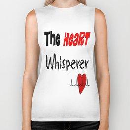 The Heart Whisperer Biker Tank
