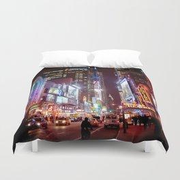 West 42nd Street, New York, New York Duvet Cover