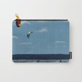 KITE~Party of 3 Carry-All Pouch