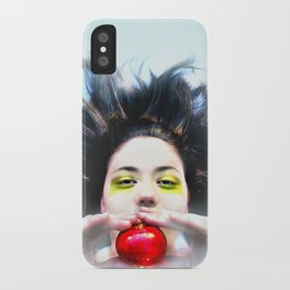 """""""Eve and Fruit"""" (apple) iPhone Case"""